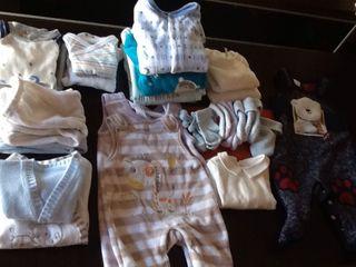 Lote de ropa bebe 1-3 meses