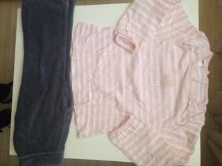 Pantalon y camiseta niña