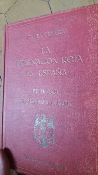 Libro La dominacion roja en España