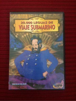 Dvd 20000 leguas de viaje subm