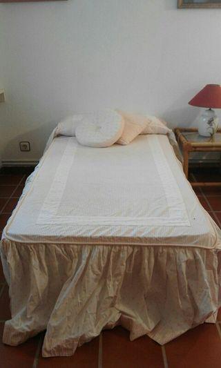 2 Colchas algodón cama 90 (precio ambas) OFERTA