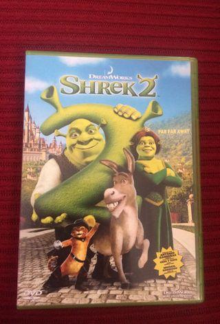 Pelicula DVD shrek 2