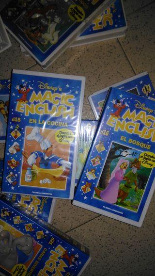 peliculas cinta Disney's Magic English