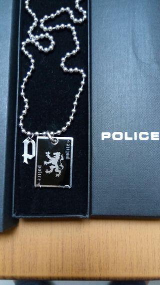 cadena colgante marca police
