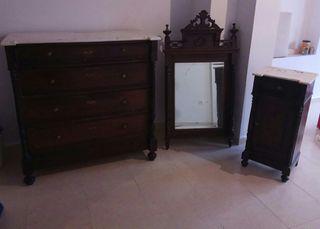 Mueble antiguo de segunda mano por 300 en valdepe as en wallapop - Muebles segunda mano ciudad real ...