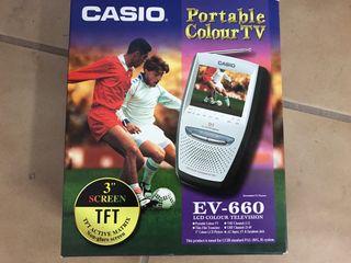 TV portatil Casio en color