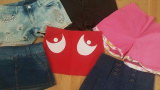 Shorts y minifaldas