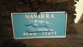 Chapa de hierro NAVARRA - PENN STATE