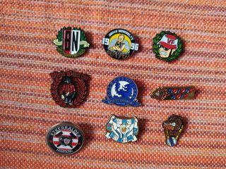 CAMBIO pins ultras por otros pins ultras