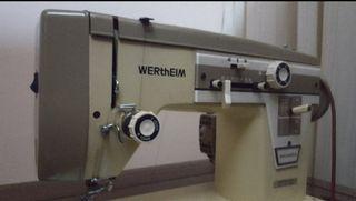 Máquina de coser Wertheim con mueble