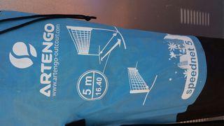 Red de voley y badminton de 5 metros