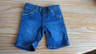 Pantalones cortos bebe, talla 6-12 meses, 68-74cm