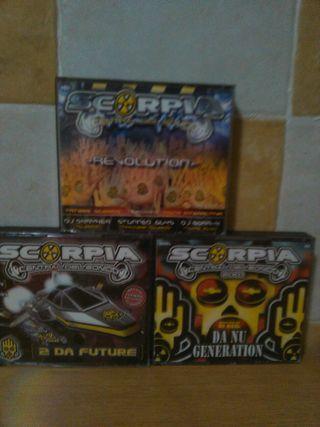 cds edicion especial scorpia