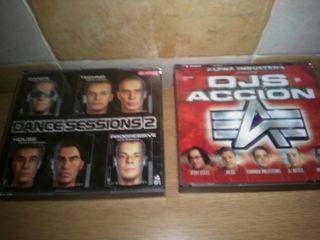 Cds DJs en acción y dance sessions 2
