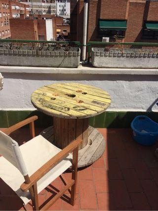 Mesa bobina Interior o terraza