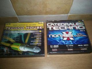 cds catedrales del techno y techno house