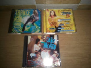 cds dance trance,dance party5 y vaya morro