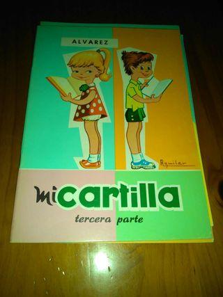 Antiguas cartillas Álvarez