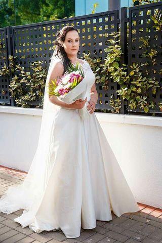 vestido de novia talla 44 de segunda mano en valencia en wallapop