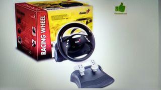 kit de volante con pedales para PC