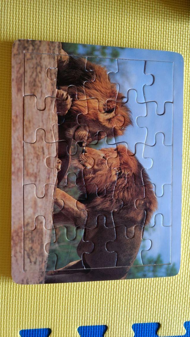 """Puzzle """"Los leones"""""""