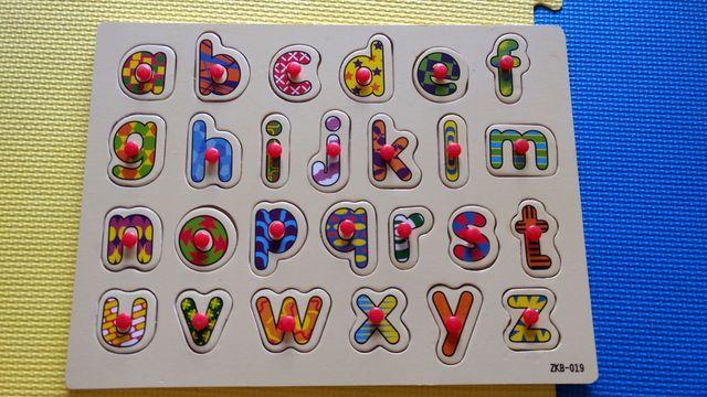 Puzzle alfabeto ingles