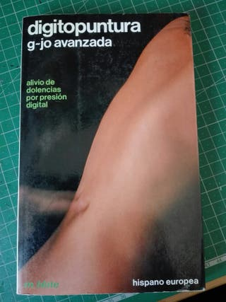 Libro «DIGITOPUNTURA G-JO AVANZADA»