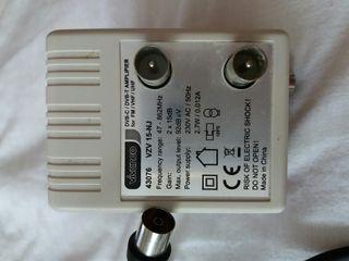 amplificador de antena y tdt
