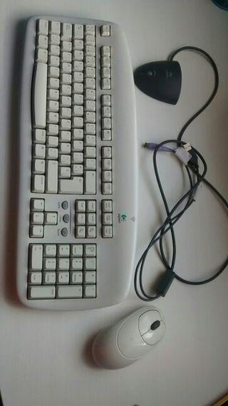 Teclado y ratón inalámbricos