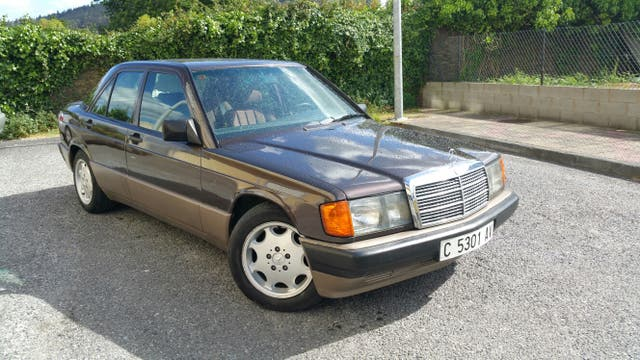 Mercedes-Benz 190E 1990 clasico