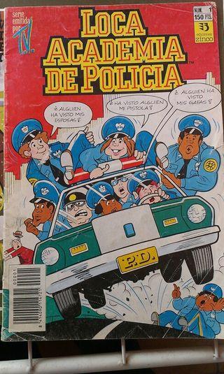 Comic Loca Academia de Polícía.