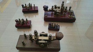 Manipuladores de Morse - Telegrafia