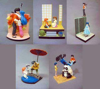 Figuras de Ranma