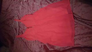 vestido sin estrenar rosa de stravidarios