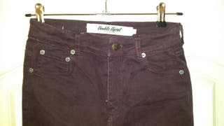 Jeans granate DOUBLE AGENT