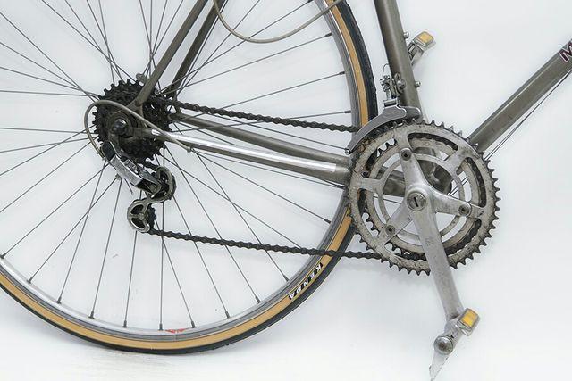 Bicicleta Motobecane chica gris morada