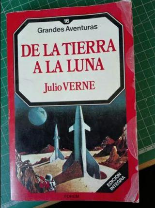 Libro « DE LA TIERRA A LA LUNA» Julio Verne