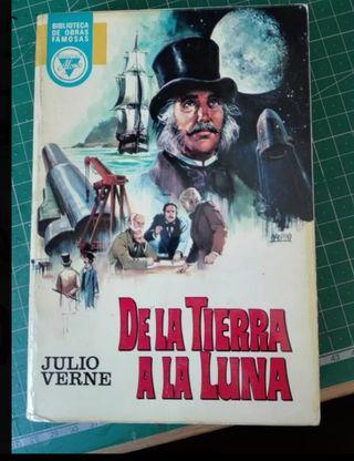Libro «DE LA TIERRA A LA LUNA» de Julio Verne