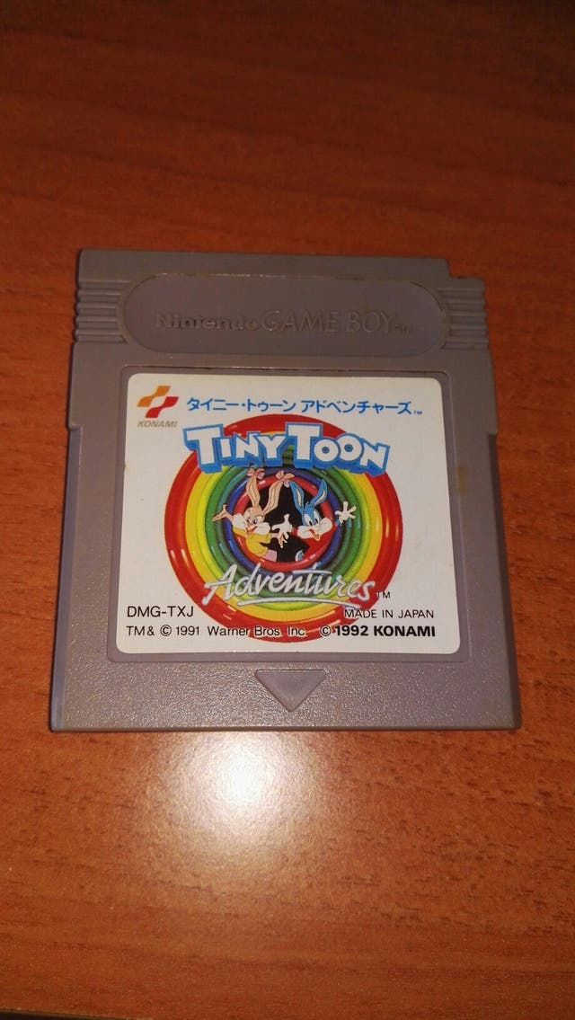Juego Game Boy Tiny Toons