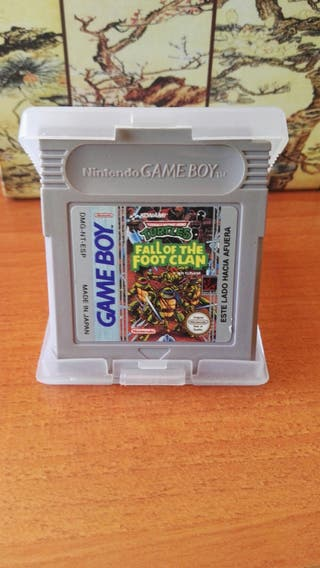 Juego Game Boy Tortugas Ninja Fall of The Foot