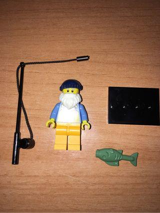 Pescador sobre serie 3 lego