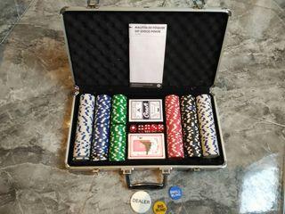 maletín poker