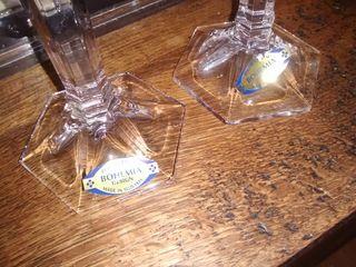 Candelabros de cristal de BOHEMIA