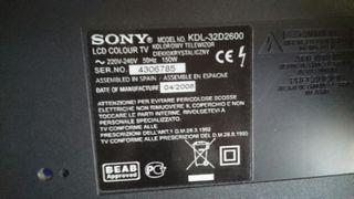 Sony KDL-32D2600 Despiece