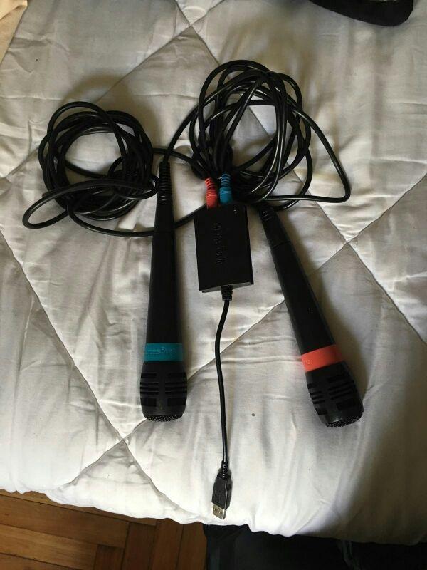 microfonos PlayStation