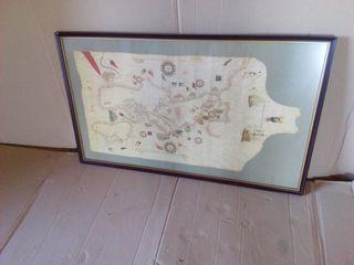 cuadro cuadros mapa