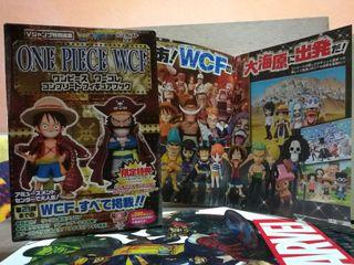 WCF One Piece Luffy y Roger