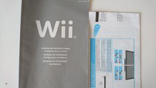 Libro de instrucciones Wii