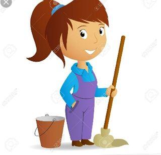 trabajo limpiar