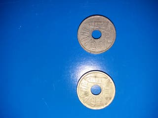 25 pesetas 1995